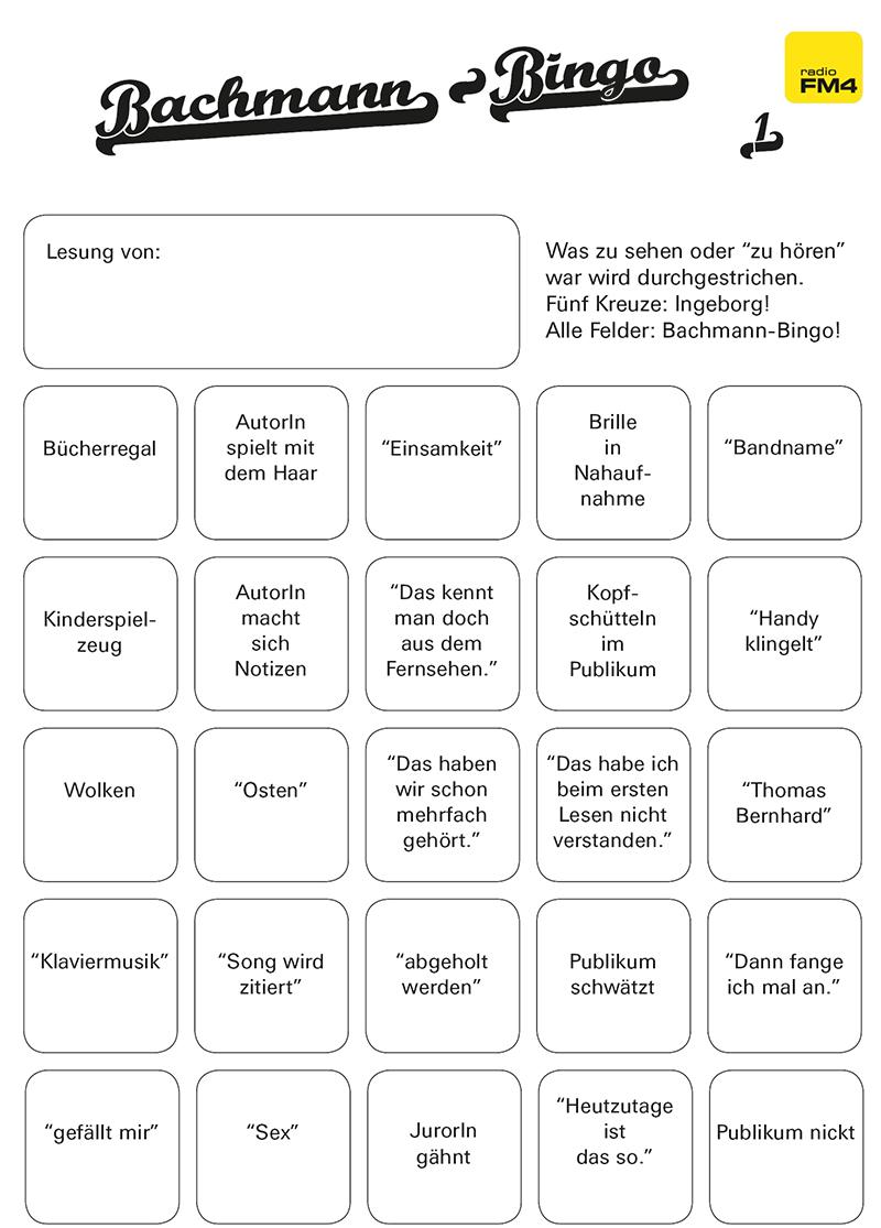 Bachmann Bingo Seite 1