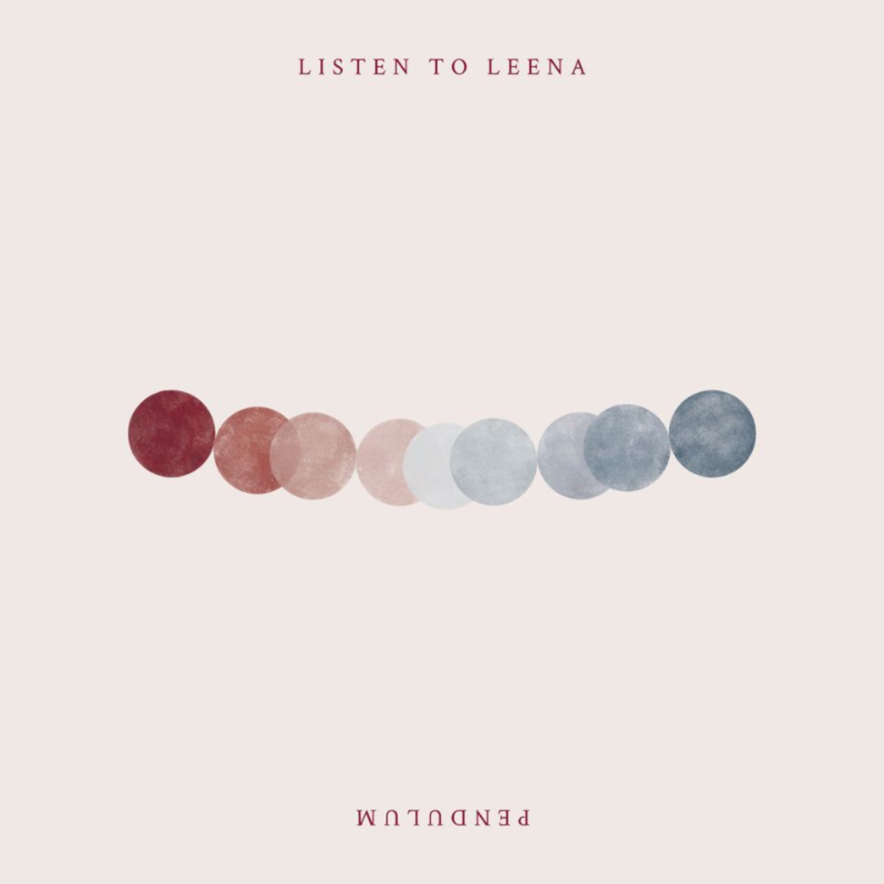 "Albumcover ""Pendulum"" von Listen To Leena"