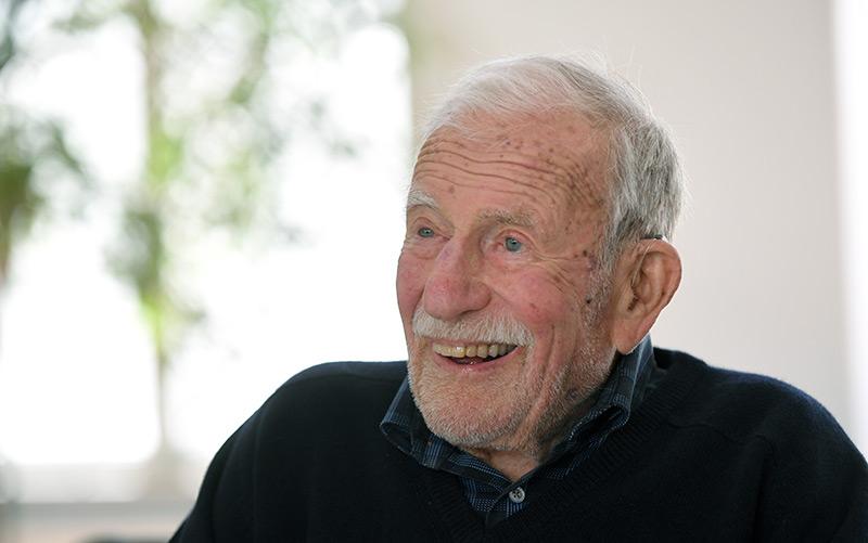 Walter Munk im Jahr 2017