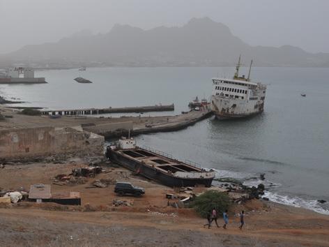 Schiffswrack, Kap Verden