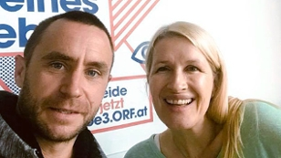 Steffen Hofmann und Claudia Stöckl