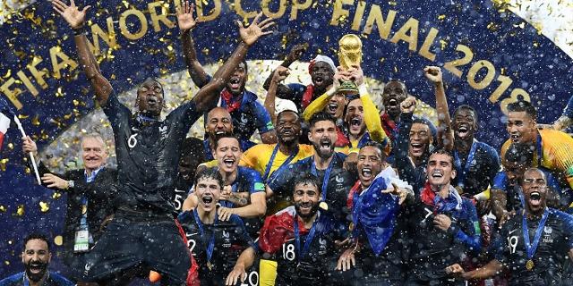 Frankreich ist Fußball Weltmeister