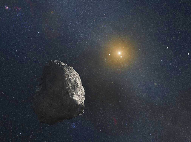 Felsiger Himmelskörper im Sonnensystem