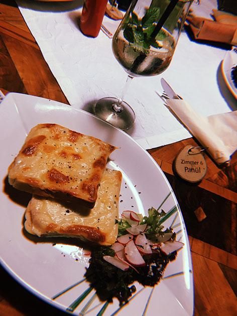 Schinken-Käse-Toast in Kärnten
