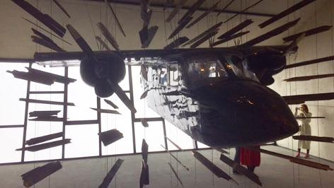Flieger im Bond Museum