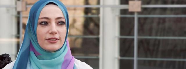 Batul, eine in Bozen lebende Psychiaterin, die sich vor allem im Bereich transkulturelle Psychiatrie engagiert