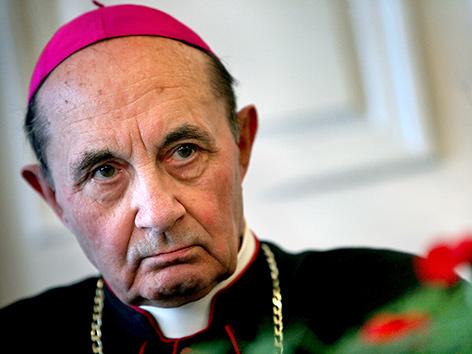 Ehemaliger Erzbischof von Maribor (Slowenien) Franc Kramberger