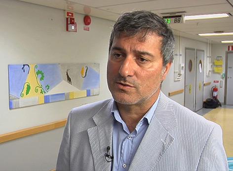 Paolo Macchiarini im Krankenhaus