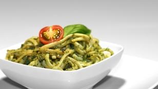 Pesto mit Nudeln