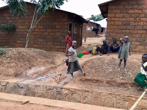 Afrika Ruanda Burundi Flüchtlingscamp