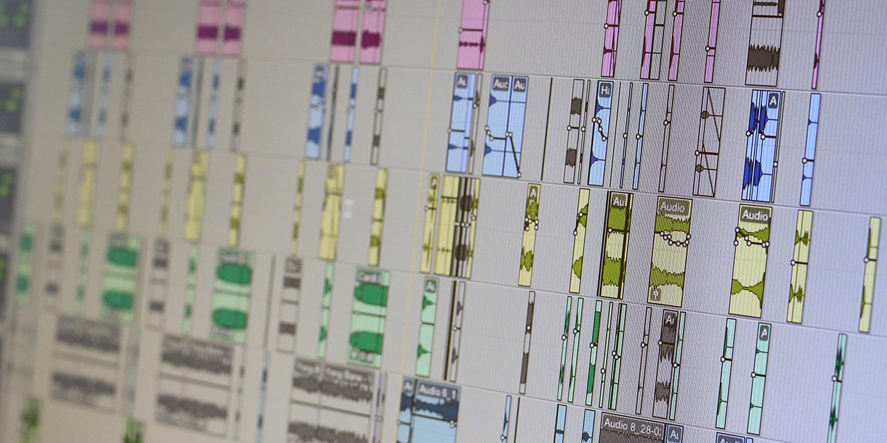 Pro Tools Audioprojekt