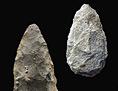 Steinwerkzeuge: zwei Fauskeile