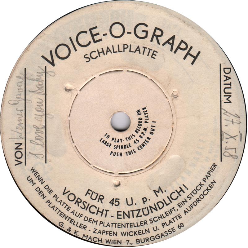FM4 Schnitzelbeats- Voice-O-Graph