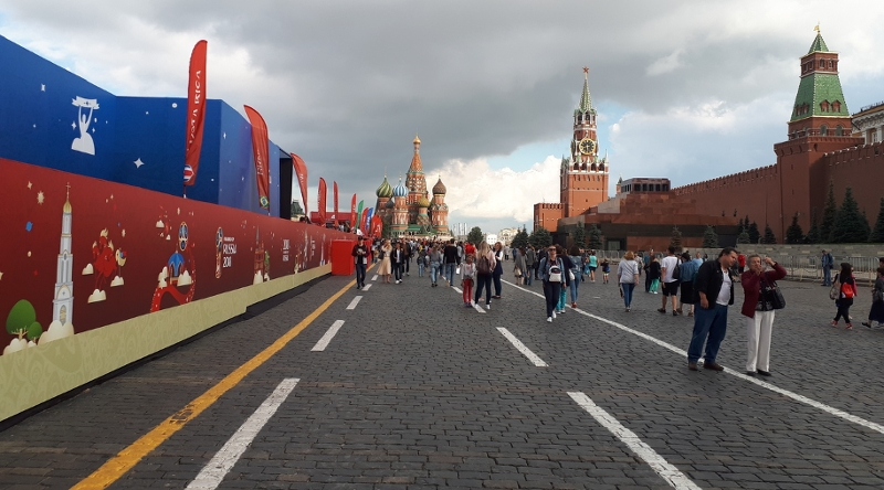 Moscow Red Square during WM