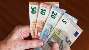 Geld Hände
