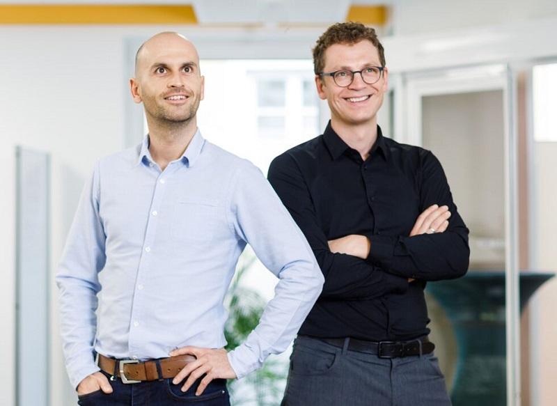 Die Gründer der Firma emagnetix