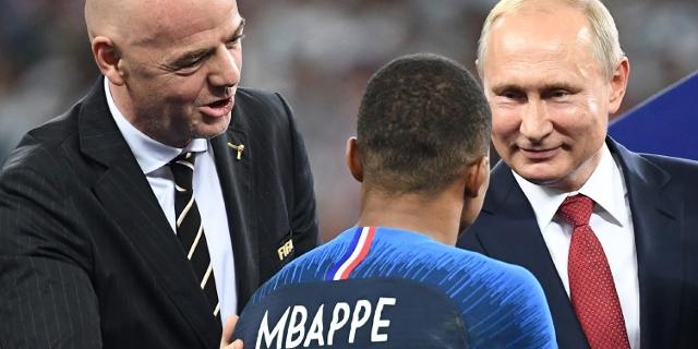 Putin bei der FIFA WM 2018