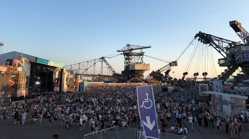 Atmosphäre am Melt Festival 2018