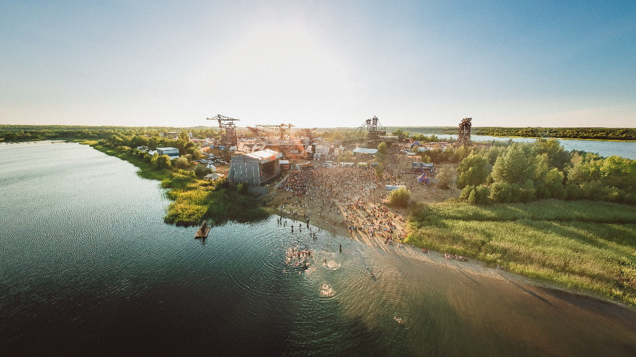 Bird View Melt Festival 2018