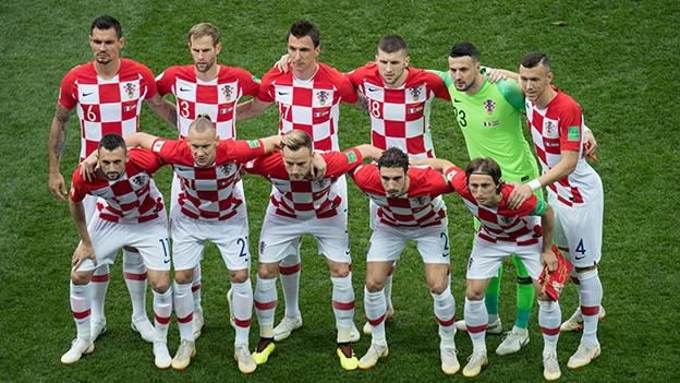 Kroatische Nationalmannschaft Spendet