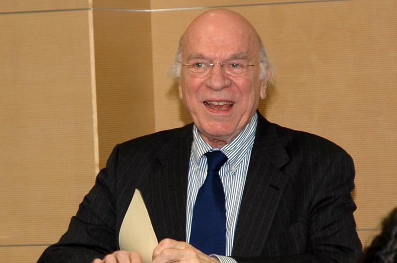 Stanley Cavell  2006 bei einem Vortrag an der ETH Zürich