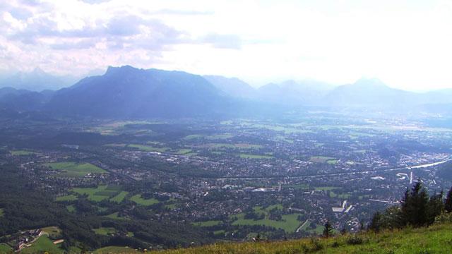 Ausblick vom Gaisberg