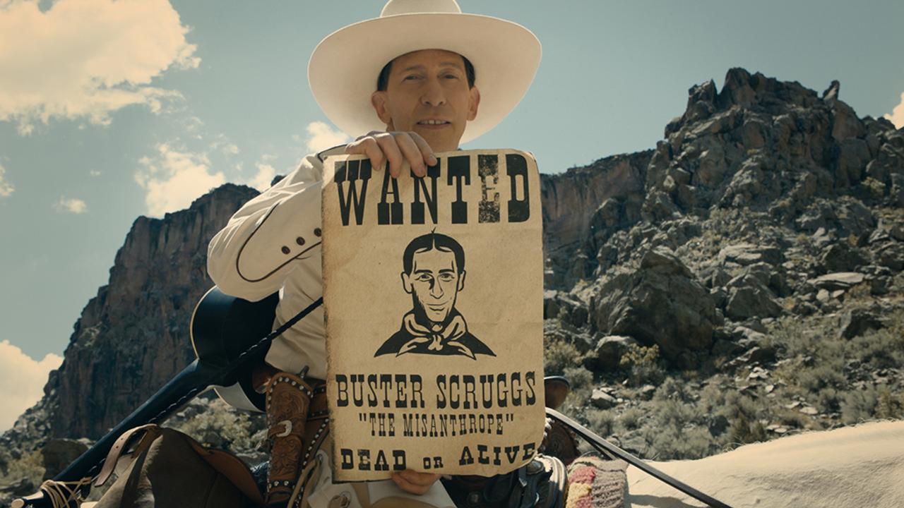 Cowboy mit Wanted-Bild