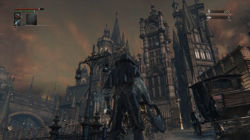 Screenshot Bloodborne