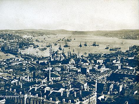 Istanbul im Jahre 1870