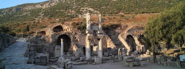 Römische Tempelanlage bei Ephesus