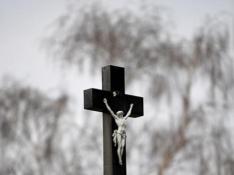 Kruzifix in Wien