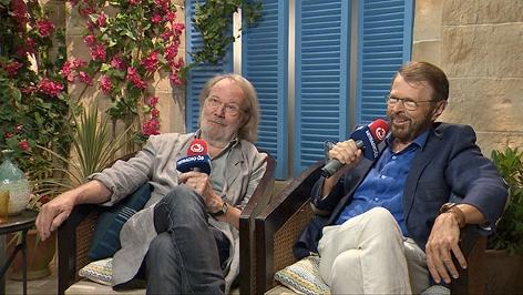 Benny Andersson und Björn Ulvaeus im Ö3-Interview