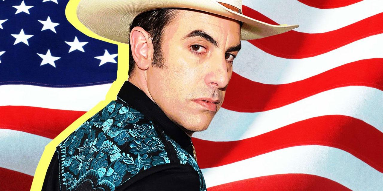 Sacha Baron Cohen als Redneck