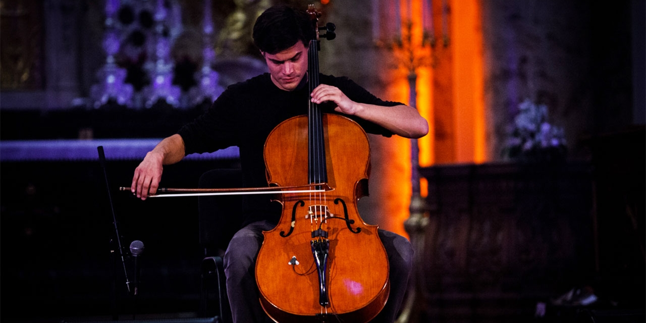 Lukas Lauermann in der Karlskirche