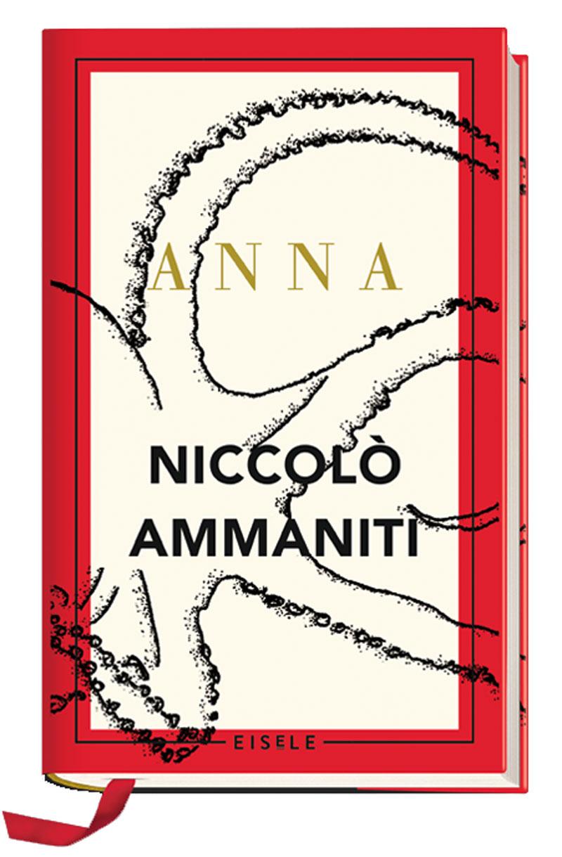 """Buchcover von Niccolo Ammanitis Roman """"Anna"""""""