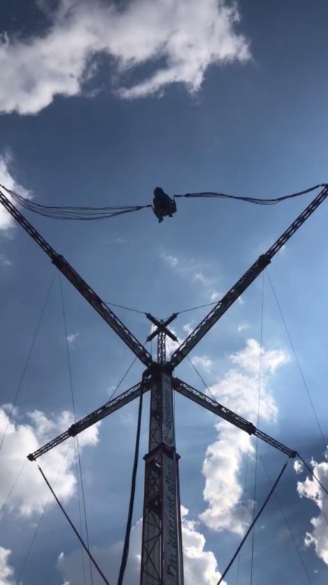 Skyshooter auf der Donauinsel