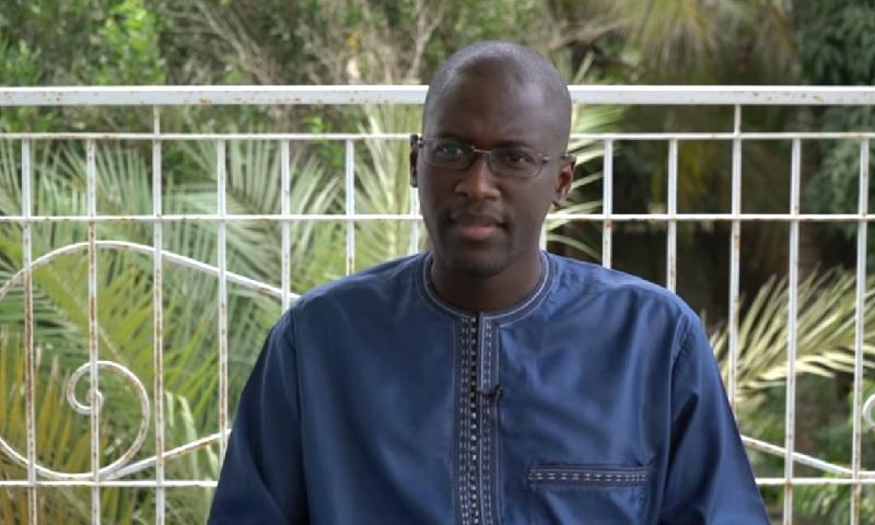 Der senegalesische Ökonom Ndongo Samba Sylla