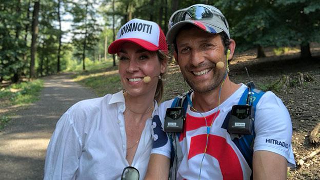 Nadja Bernhard und Tom Walek im Lainzer Tiergarten