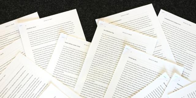Wortlaut-Texte und die Wortlaut 18 Jury
