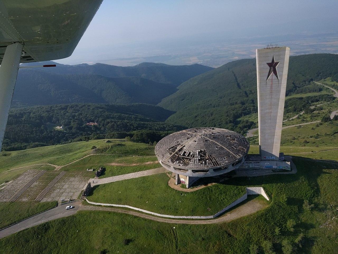 Buzludzha Halle in Bulgarien