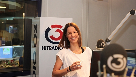 Christina Stürmer im Ö3 Studio