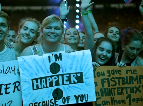 Ed Sheeran Fans in Wien_7. August 2018 Ernst Happel Stadion