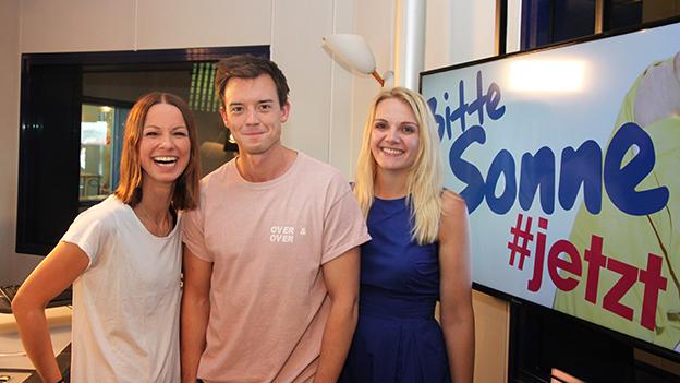 Christina Stürmer mit Philipp Hansa und Lisa Hotwagner