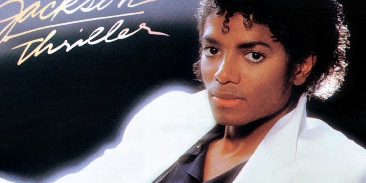 """Cover von """"Thriller"""" mit Michael Jackson"""