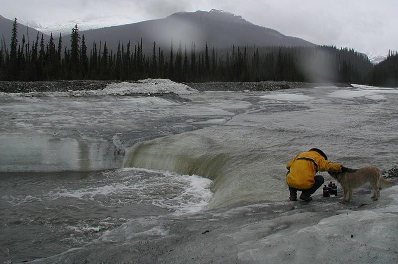 Tauender Permafrost in Alaska