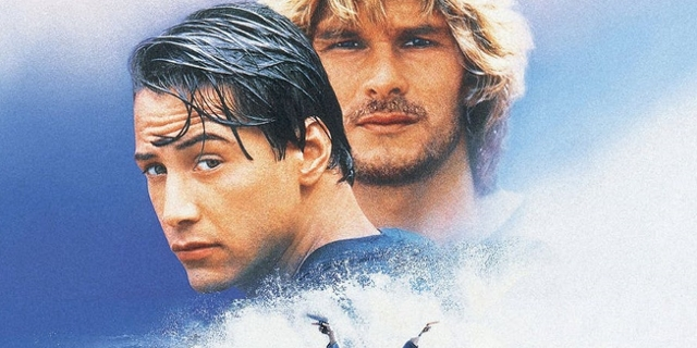Keanu Reeves als Surfer in Point Break