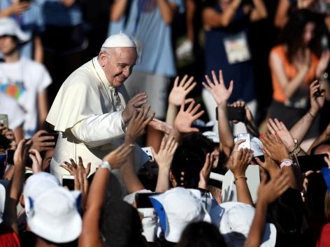 Papst 70.000 Jugendliche Circus Maximus
