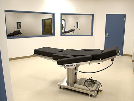 Exekutionskammer in Nevada, USA