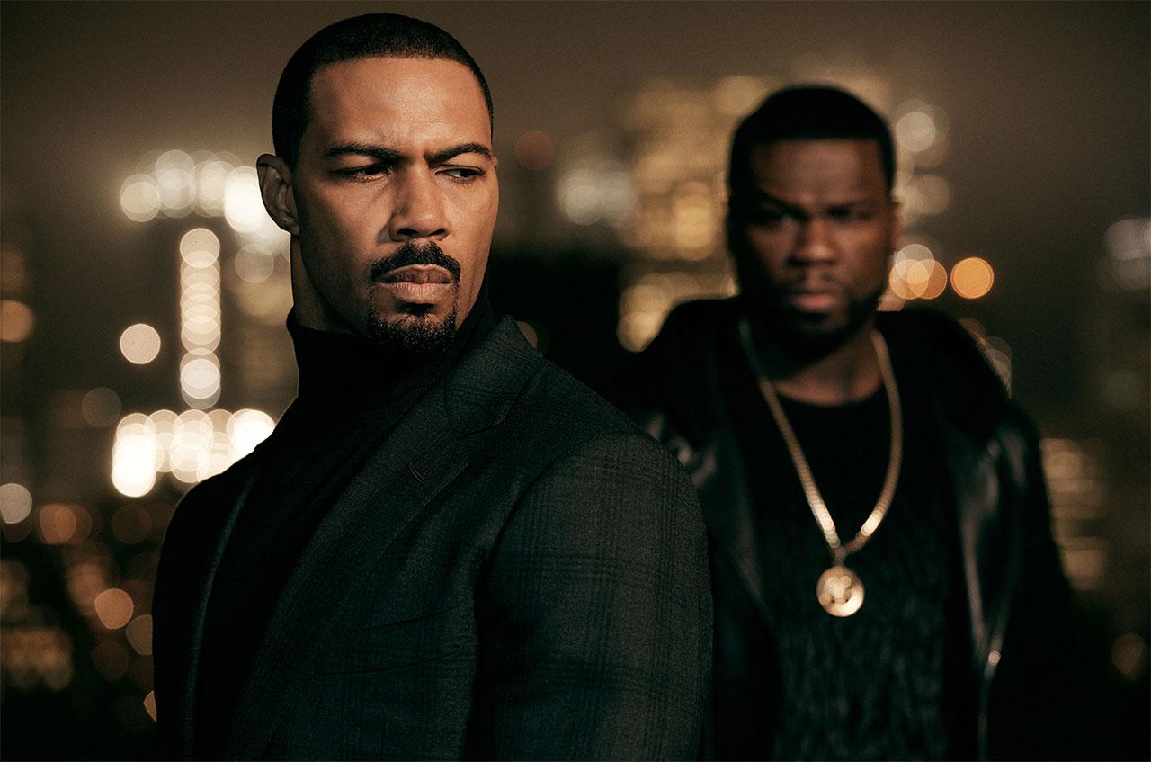 Omari Hardwick und 50 Cent