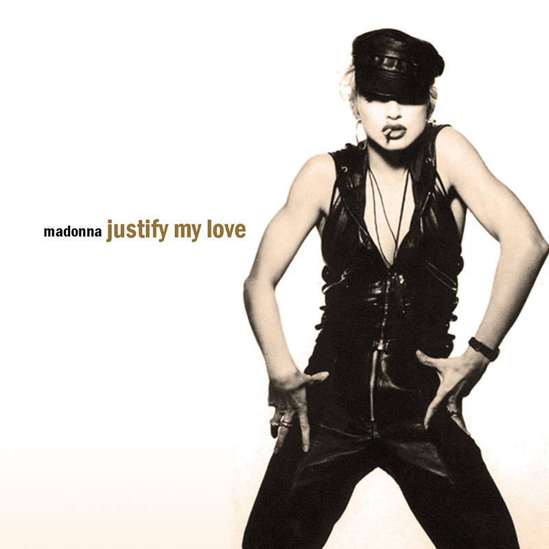 "Plattencover ""Justify my love"""